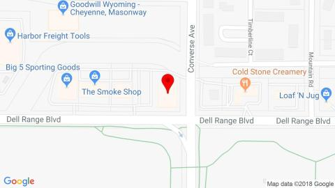 Google Map of Atatak Corporation, 2232 Dell Range Blvd, Cheyenne, WY, USA